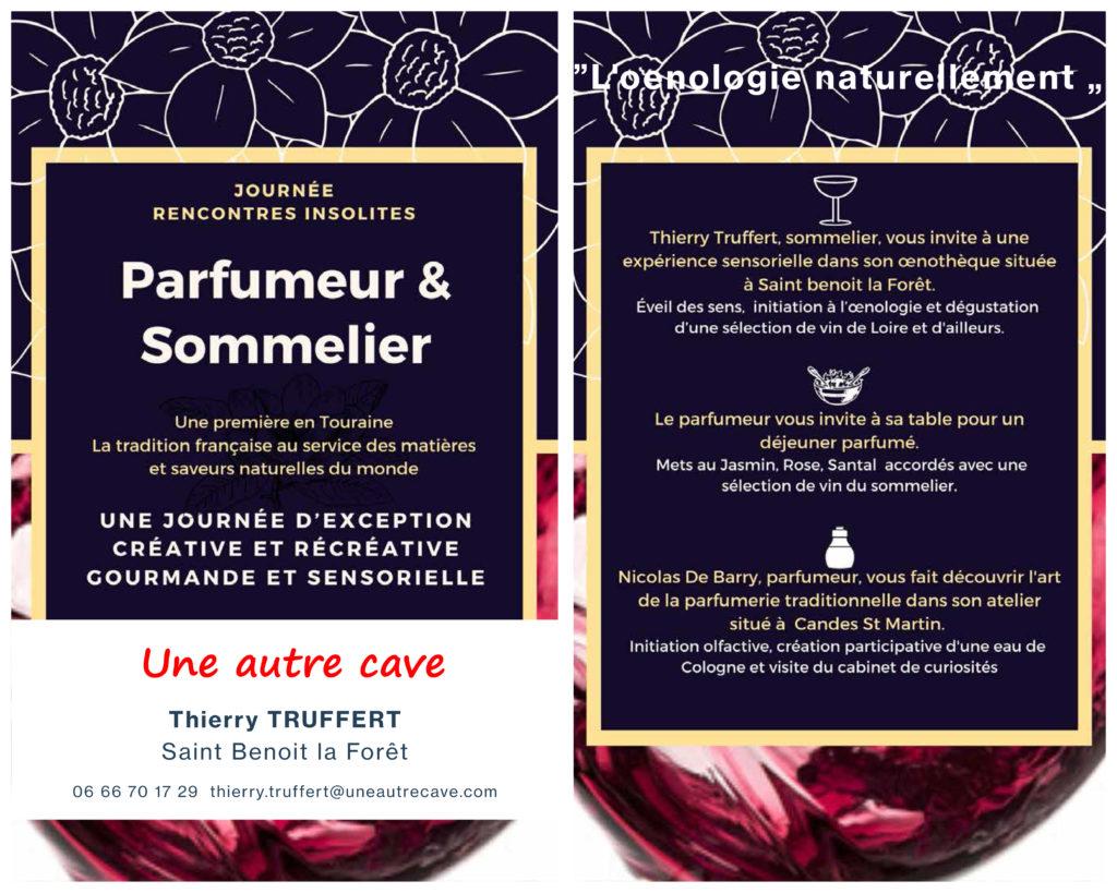 Stage vin et parfum une autre cave