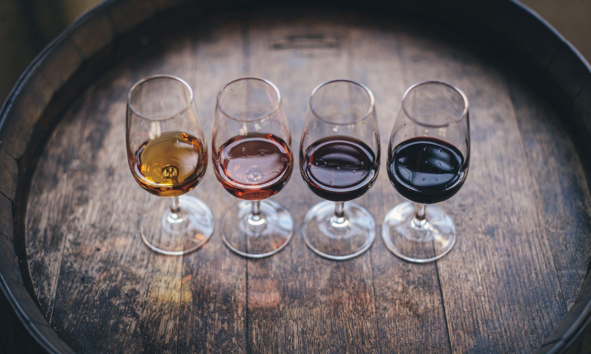 Verres de vin dégustation une autre cave